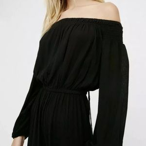 Free people Show your shoulder jumpsuit M
